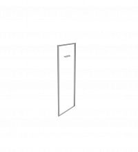 БНД-02.1Т Дверь стеклянная тонированная в алюминиевой раме